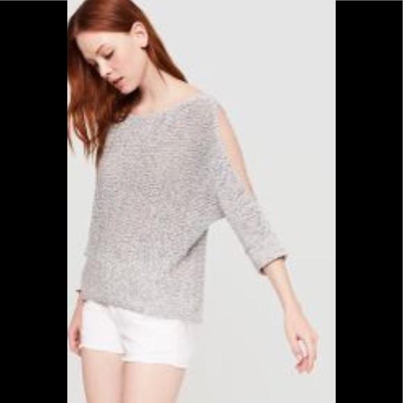 c6e283da40723a Lou   Grey Sweaters - LOU   GRAY Cold Shoulder Sweater